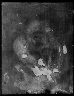 ir Francis Walsingham, rentgen, Źródło: National Portrait Gallery