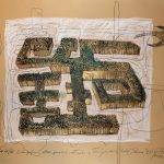 "Joanna Styrylska, ""Trajektoria lotu ptaka"", 100×70 cm, litografia, artpower.pl"