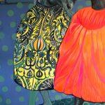 """Joanna Styrylska, """"Przyjaciele – rozmowa"""", 120×80 cm, olej, artpower.pl"""