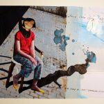 "Joanna Styrylska, ""Panna Lola Long"", 21×29 cm, tech. mieszana, artpower.pl"