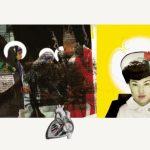 "Joanna Styrylska, ""Żółta Madonna"", 100×70 cm, collage cyfrowy, artpower.pl"