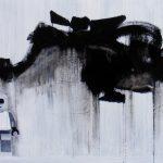 """Tomasz Preficz , """"Teatrzyk"""", 120 x 80 cm; olej na płótnie, Źródło: studentartworks.com"""