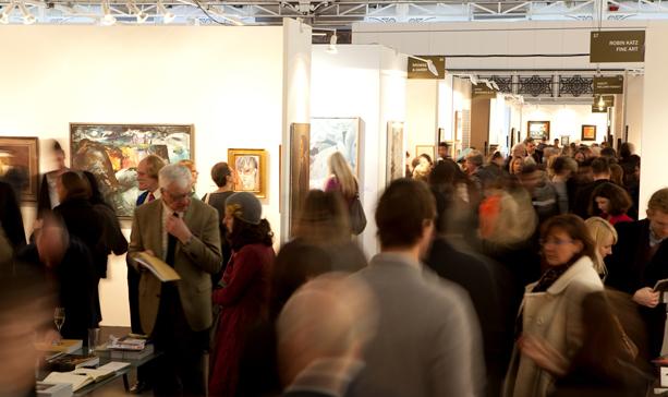 Odwiedzający London Art Fair 2012, fot. .londonartfair.co.uk