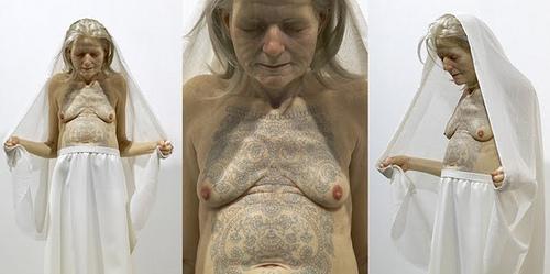 Sam Jinks, Sam Jinks Tattooed Woman , 2007, fot. samjinks.com
