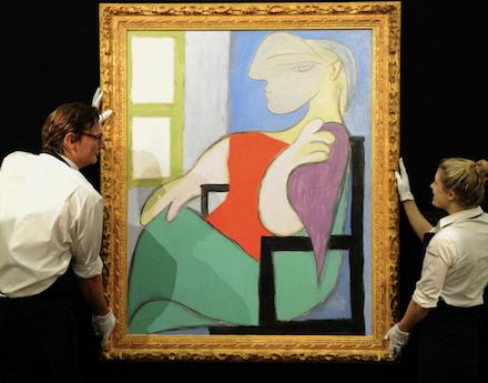 Pablo Picasso, Femme Assise Prés D'une Fenêtre, fot. christies.com