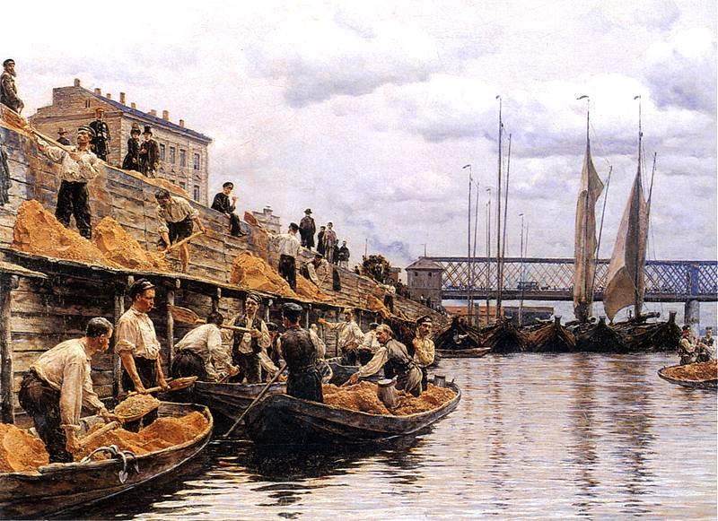 Aleksander Gierymski, Piaskarze, 1887 rok, MNW