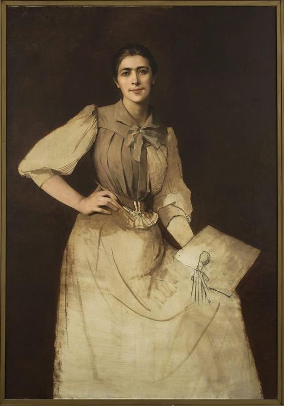 Autoportret Anny Bilińskiej- Bohdanowicz, 1892, MNW