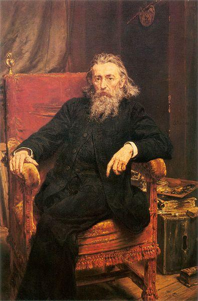 Autoportret Jana Matejki, 1892 rok, MNW