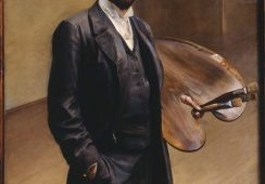Autoportret Jacka Malczewskiego, 1892 rok, MNW