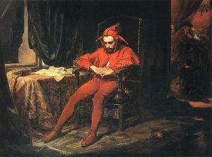 Jan Matejko, Stańczyk, 1862 rok; źr. MNW