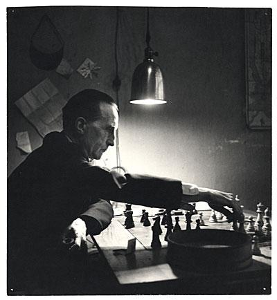 Marcel Duchamp, fot. chessgames.com