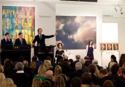 Wysokie sprzedaże na aukcji Sotheby's