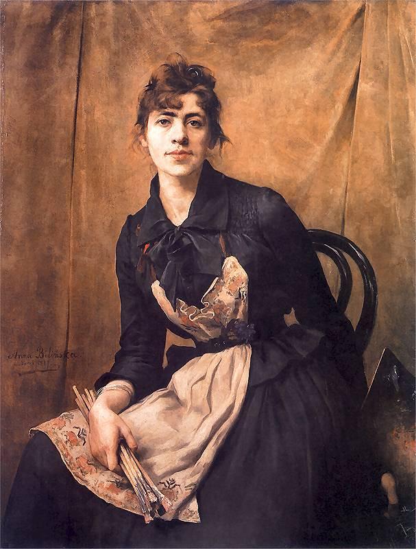 Anna Bilińska-Bohdanowiczowa, Autoportret, 1997 fot. Muzeum Narodowe w Krakowie