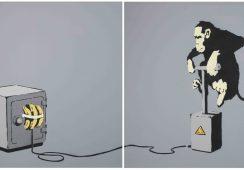 Dzieła Banksy'ego ponownie idą pod młotek