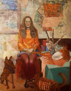 Edward Dwurnik, Dorota, z cyklu Dyplom, 1970 rok, źródło: top10tastes.com
