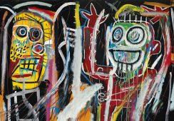 Problemy Christie's z kolekcją dzieł Basquiata