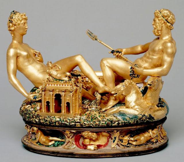 Cellini, solniczka, Kunsthistorisches Museum w Wiedniu