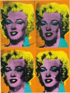Four Marilyns (1962), Andy Warhol, źródło: Phillips