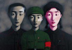 Popyt na chińską sztukę najnowszą najwyższy poza Chinami