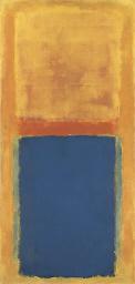 Mark Rothko, W hołdzie Matiesowi, obraz sprzedany za 22 i pół miliona dolarów w 2005 roku, źródło: christies.com