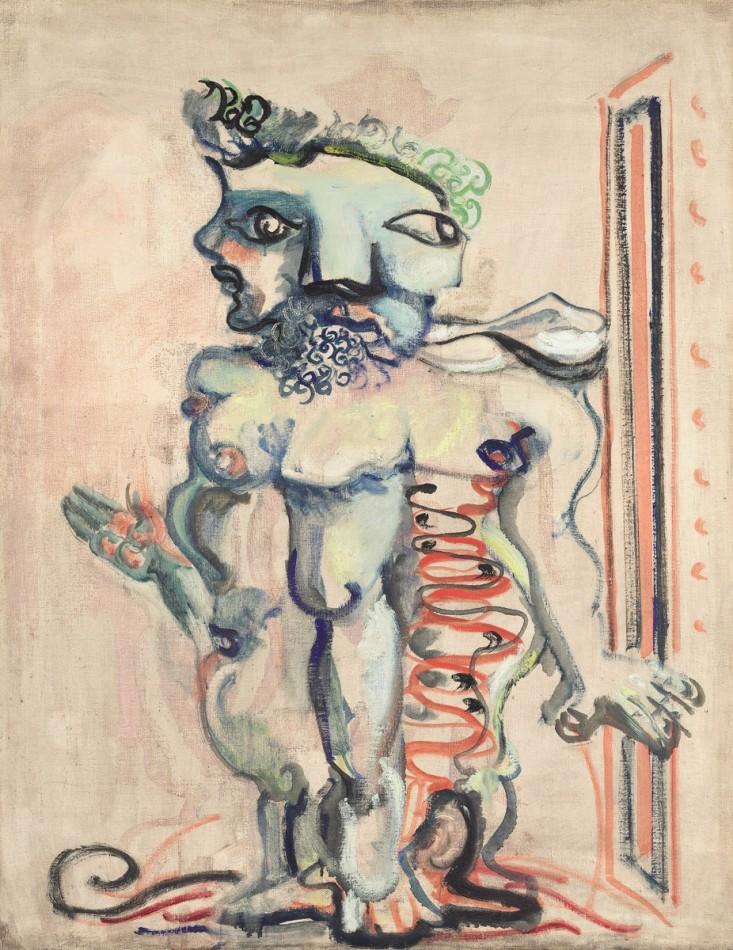 Mark Rothko, Bez tytułu, 190-1941, źródło: National Gallery of Art, Waszyngton