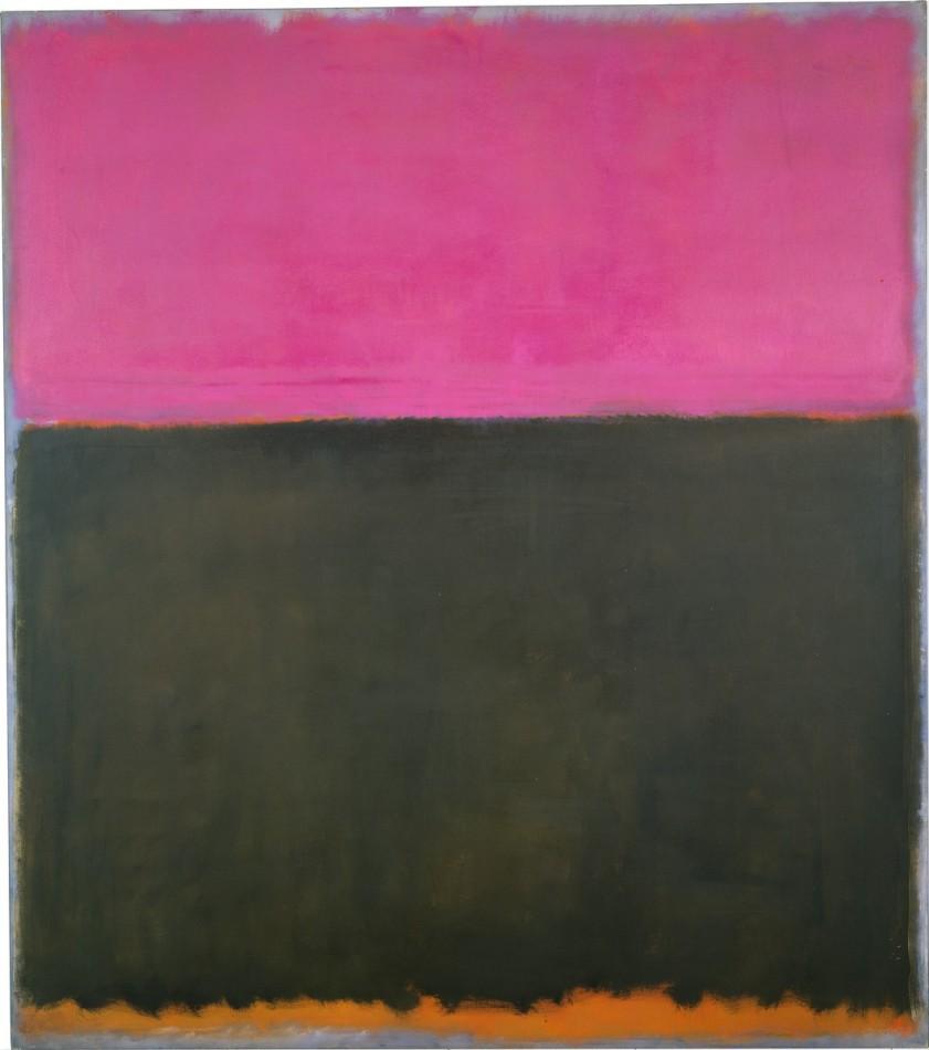 Mark Rothko, Bez tytułu, 1953 rok, źródło: National Gallery of Art, Waszyngton