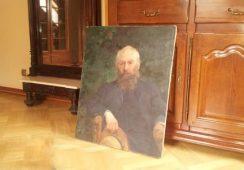 """Zabytkowy """"Portret Józefa Chełmońskiego"""" wrócił do Muzeum Sztuki w Łodzi"""
