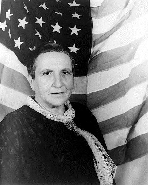 Gertruda Stein, fotografia Carla von Vechtena, 1934 rok, źródło: wikipedia.pl
