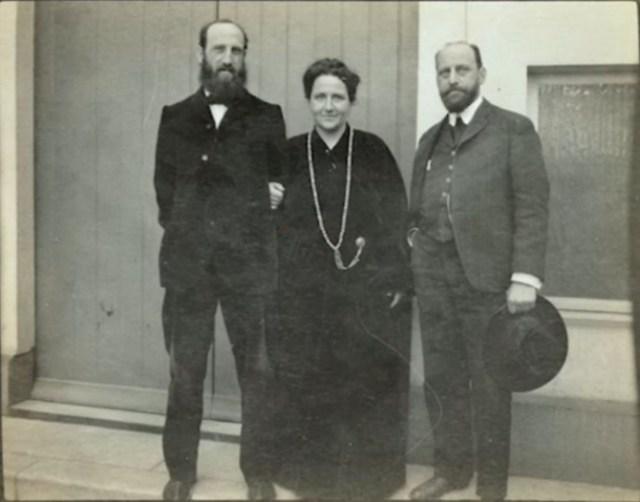 Gertruda Stein, Leo Stein i Henri Matisse, źródło: Sarah and Michael Stein Memoral Collection