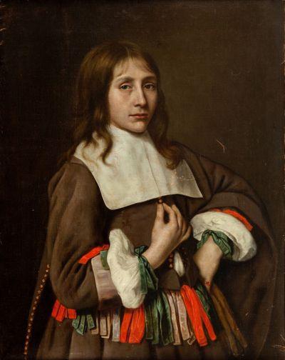 Adrieann van Hanneman, Portret młodzieńca, II poł. XVII wieku,  estymacja cenowa: 450 000 - 600 000 złotych, niesprzedane,  źródło: desa.pl