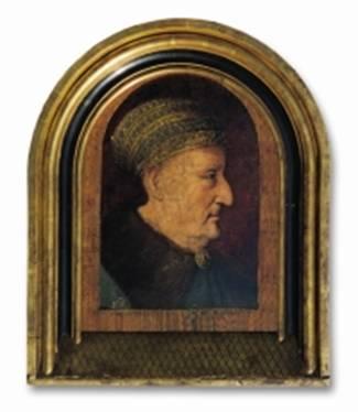 Malarz z kręgu Mistrza Habsburgów, Portret cesarza Fryderyka III,  początek XVI wiek, wylicytowany w 2002 roku za 95 000 złotych,  źródło: altius.com