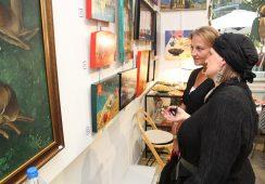 Fotorelacja z wernisażu wystawy Rity Stashulionak