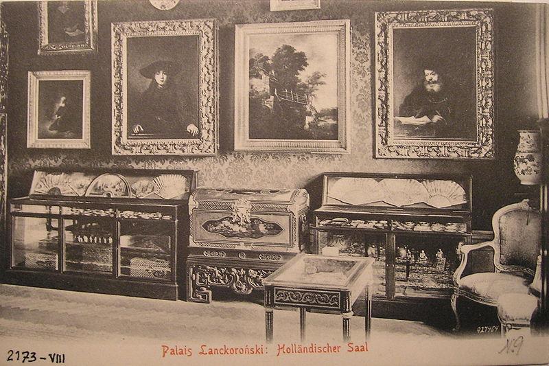 Fotografia przedstawiająca Salon Holenderski w Pałacu Lanckorońskich w Wiedniu, źródło: wikipedia.pl