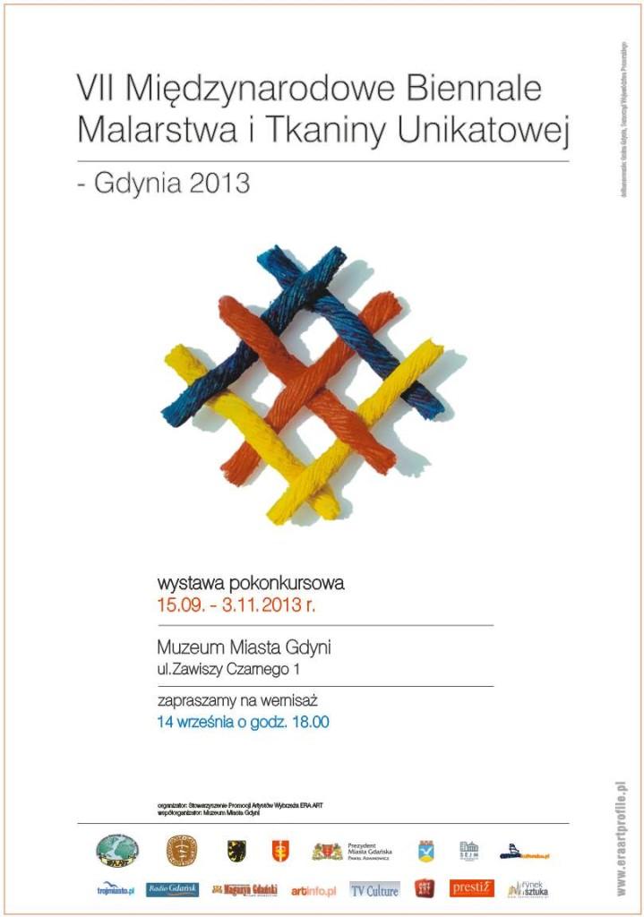 VII Międzynarodowe Biennale Malarstwa i Tkaniny Unikatowej – Gdynia 2013