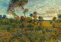 """""""Zachód słońca w Montmajour"""" van Gogha od jutra w Muzeum w Amsterdamie"""