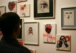 Relacja z wystawy Anny Halerewicz w Galerii Kuratorium