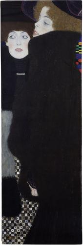 """Gustav Klimt, """"Freundinnen 1 (Die Schwestern)"""" 1907. Źródło: Gustav Klimt Wien 1900 Foundation"""