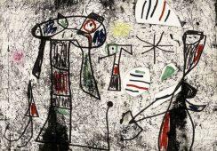 Obraz Joana Miró odnaleziony po trzech latach