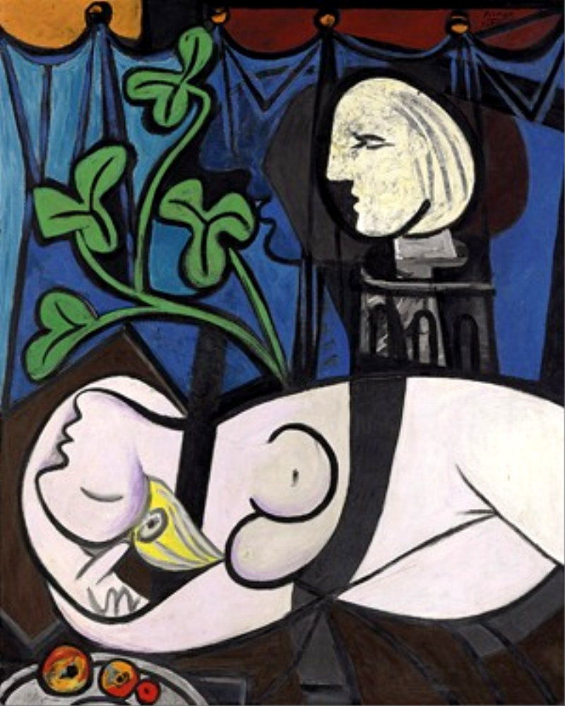 Pablo Picasso, Nude, Green Leaves and Bust, 1932 – $95,000,000 (Christie's, Nowy Jork)