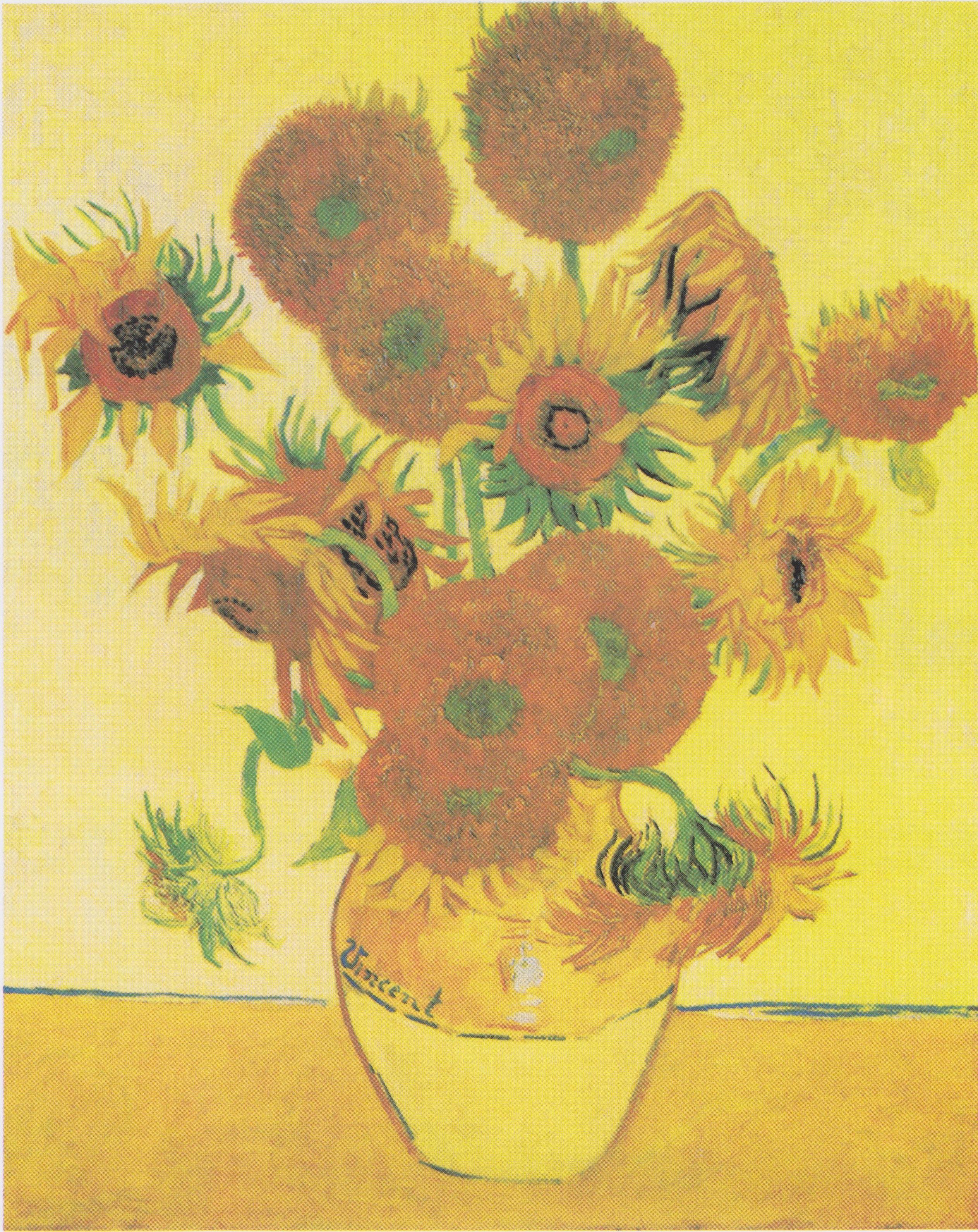 Słoneczniki Vincenta Van Gogha Razem Po Raz Pierwszy Od 65