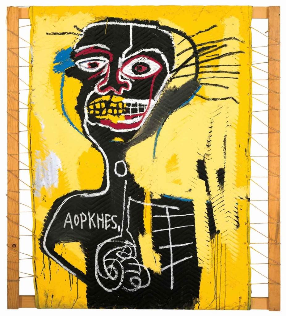 "Jean-Michel Basquiat, ""Cabeza"", 1982. Źródło: basquiat.com"