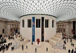 Prezent na 255. rocznicę istnienia Muzeum Brytyjskiego