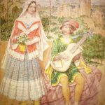 """Lady and minstrel"" Richard Dadd (1874); źródło: The Art Newspaper"