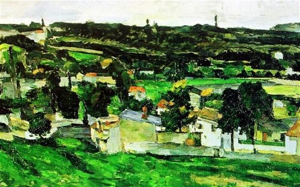 "Paul Cezanne""Widok Auvers-sur-Oise"": britannica.com"
