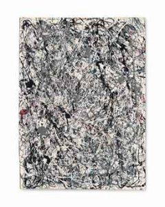 Jackson Pollock, No. 19 źródło: christies.com