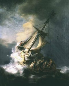 "Rembrandt van Rijn ""Burza na jeziorze galilejskim"": gardnermuseum.org"