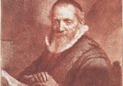 Akwaforta Rembrandta znaleziona w Edynburgu