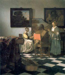 """Vermeer """"Koncert"""": wikipedia.org"""