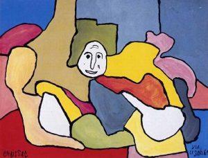 Gaston Chaissac, bez tytułu, 1961
