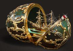 Jaja Fabergé i carskie jubilerstwo na wystawie w Wiedniu
